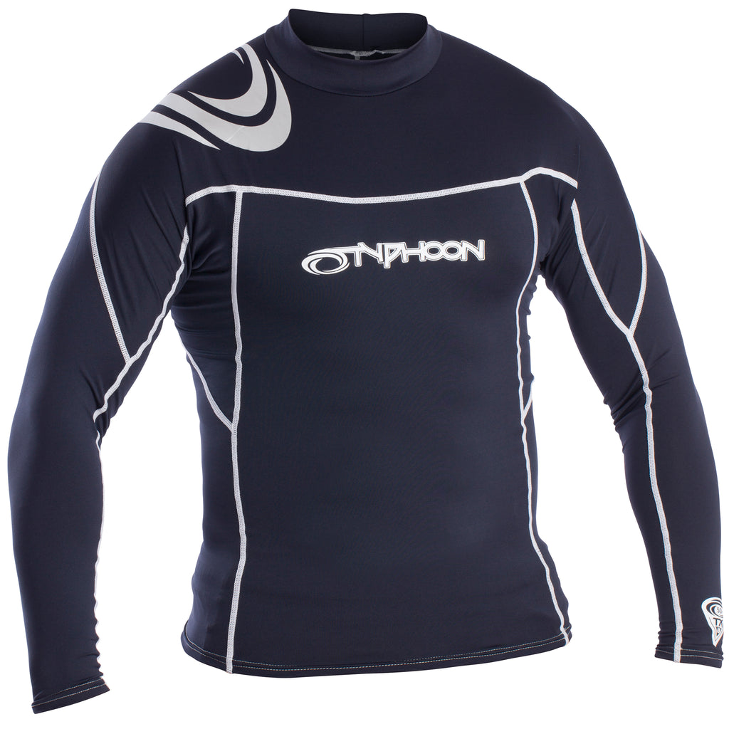 Typhoon Men's UV50 Rash Vest Long Sleeve