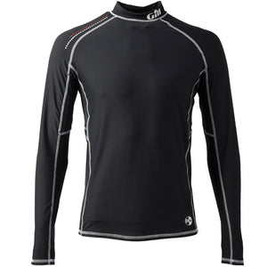 Gill Pro UV50 Rash Vest Long Sleeve | Black