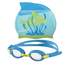 Head Meteor Character - Goggles & Cap Set - Fish