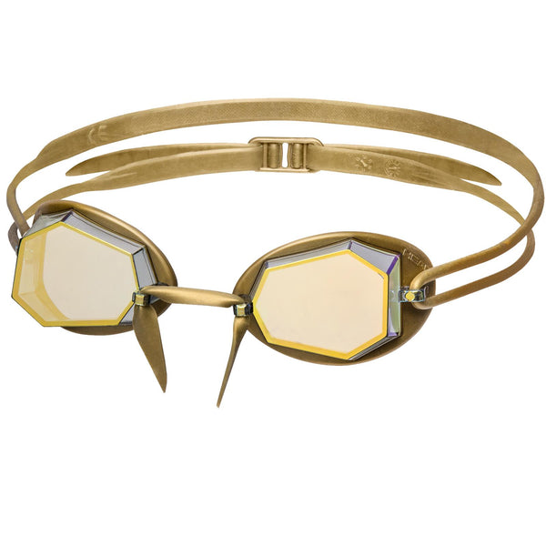 Head Diamond Gold Mirrored Goggles - Limited Edition