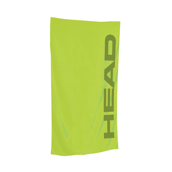 Head Microfibre Sports Swim & Beach Towel | Lime