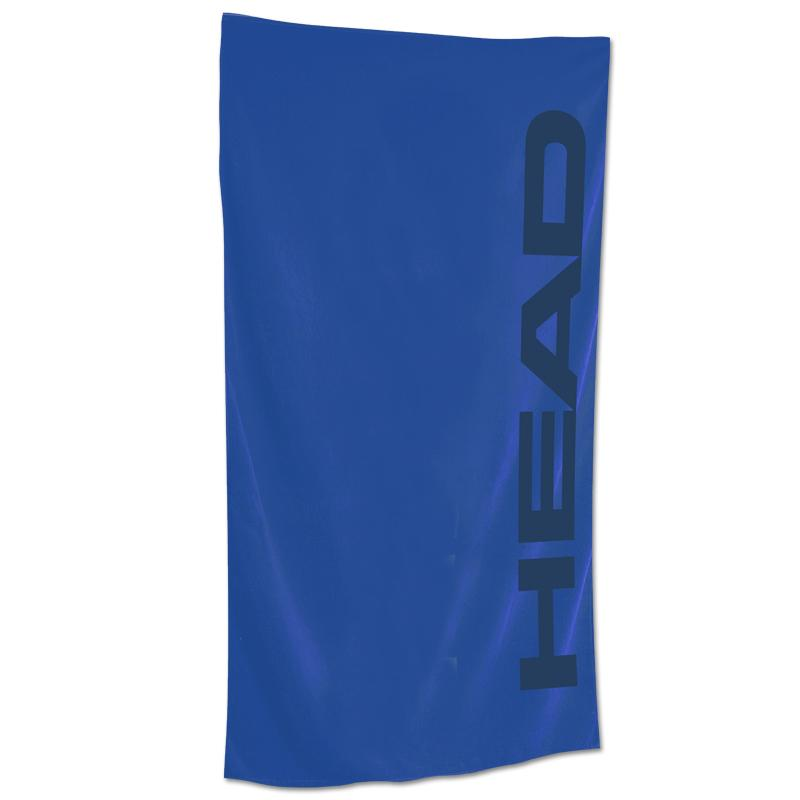 Head Microfibre Sports Swim & Beach Towel | Blue