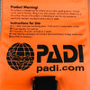 PADI Surface Signal Marker Buoy (SMB) for Divers | Instructions