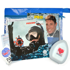 PADI Rescue Diver Crew Pack & Pocket Mask - Bundled Product