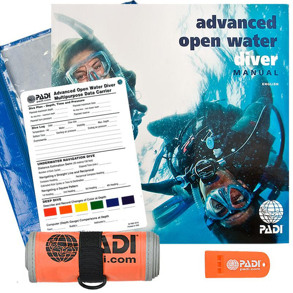 PADI Open Water Crew-Pak with SMB and Whistle