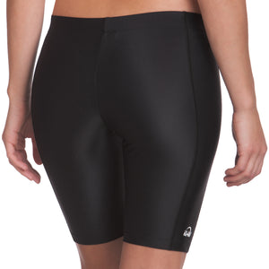 Ladies iQ UV300 Rash Shorts | Black Back