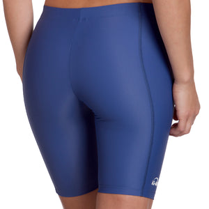 Ladies iQ UV300 Rash Shorts | Navy Back