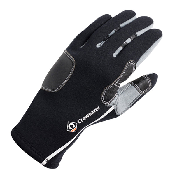 Crewsaver Tri-Season Adult Sailing Gloves - Back