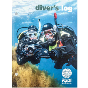 PADI Dive Log Book or PADI Dive Log Refill Pages