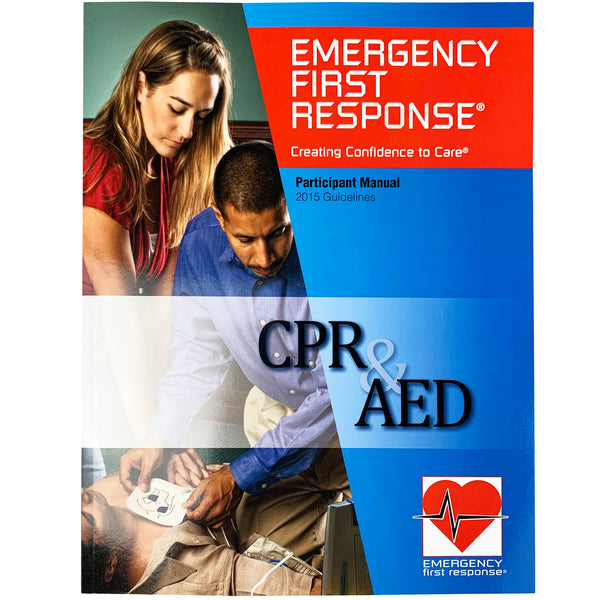 PADI Emergency First Response CPR & AED Manual
