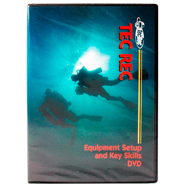 PADI Tec Rec - Equipment Set-Up and Key Skills DVD - UK Shopping