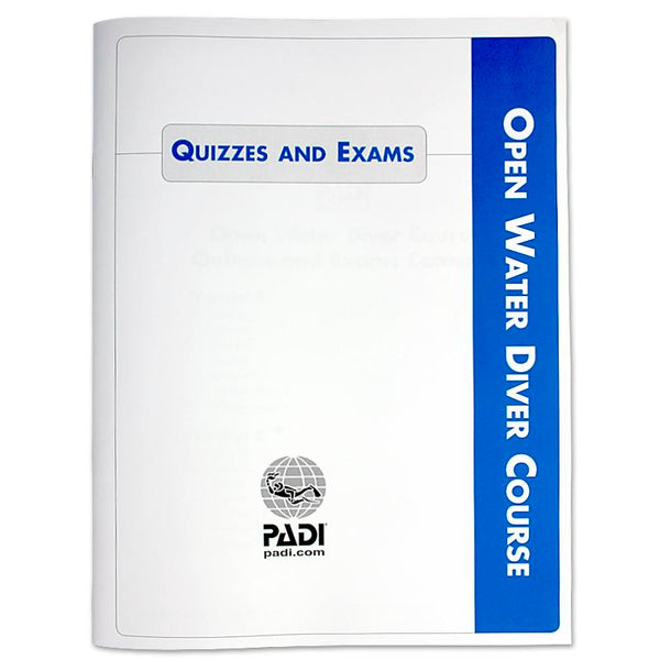 PADI Open Water Quizzes and Exams - UK Shopping