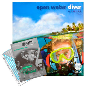 PADI Open Water Manual with RDP Table