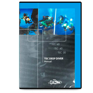 PADI Tec Deep Diver Manual DVD