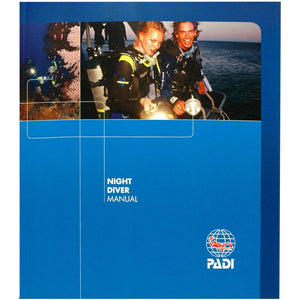 PADI Night Diver Speciality Manual