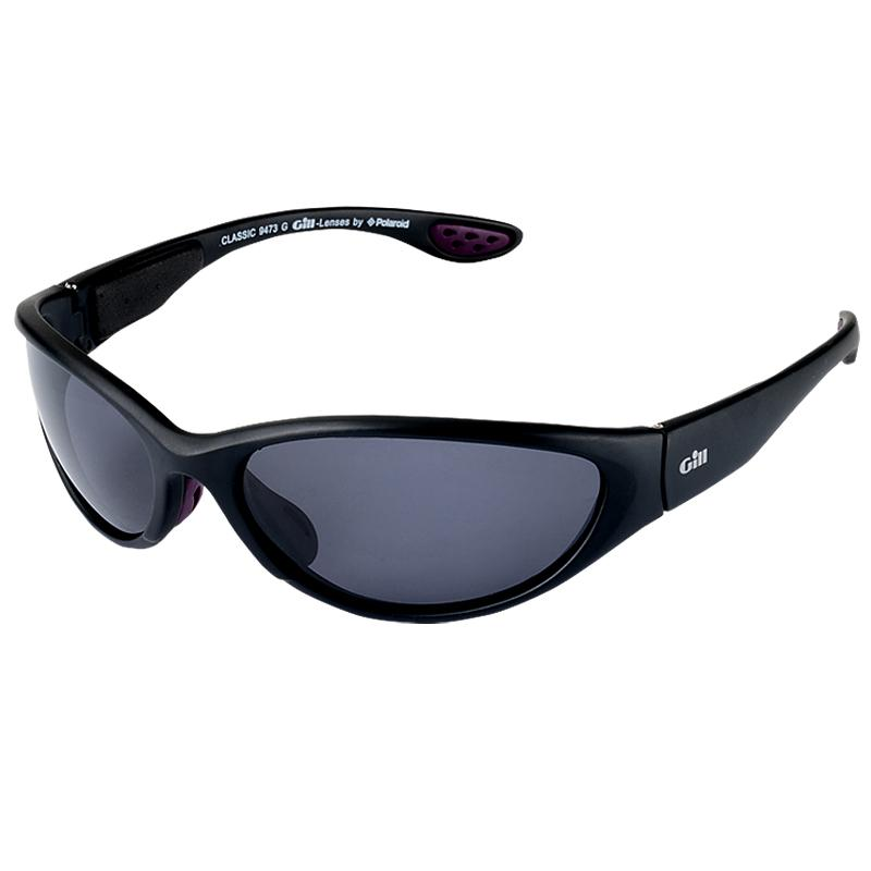 Gill Classic Polarised Sunglasses | Matt Black