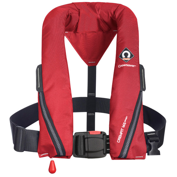 Crewsaver Crewfit 165N Sport Lifejacket Auto Inflation Non Harness in Red