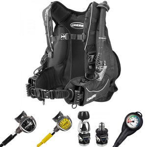 Cressi XS Compact Pro & Ultralight BCD