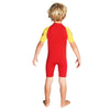 C-Skins C-Kid Trainee Lifeguard 3/2mm Shorty Wetsuit | Back