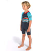 C-Skins Baby C-KID Waves Shortie Wetsuit Ink/Turquoise/Red