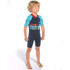 C-Skins Baby C-KID Waves Shortie Wetsuit Ink/Turquoise/Red Right side