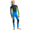 C-Skins Element Junior Boys & Girls 3/2mm Wetsuit | Cyan/Flo/Navy Front