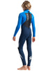 C-Skins Legend 4/3mm Junior Wetsuit | Blue | Back
