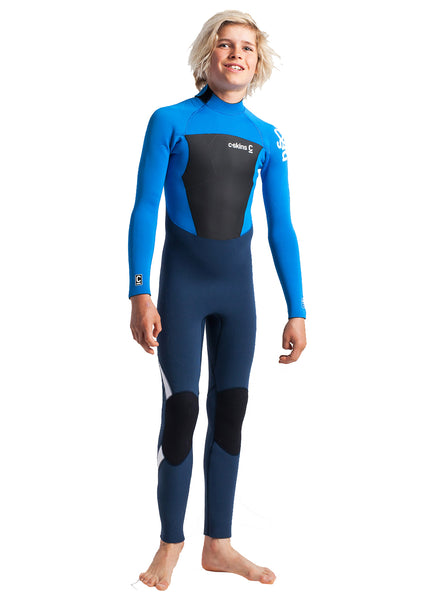 C-Skins Legend 4/3mm Junior Wetsuit | Blue