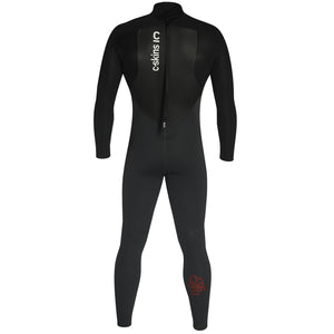 C-Skins Legend 4/3mm Wetsuit | Back Gunmetal/Black/Rust