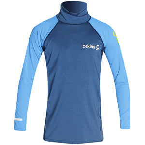 C-Skins Junior UV Long Sleeve Rash Vest