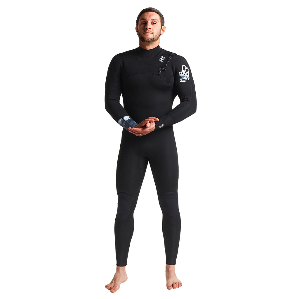 C-Skins Session 4/3mm Chest Zip Wetsuit
