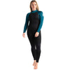 C-Skins Surflite 5:4:3mm Womens Wetsuit Black/Marine Blue Front