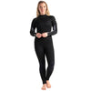 C-Skins Surflite 5:4:3mm Womens Wetsuit Black/Raven Front