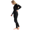 C-Skins Surflite 5:4:3mm Womens Wetsuit Black/Raven Front Left Side