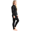 C-Skins Surflite 5:4:3mm Womens Wetsuit Black/Raven Right Side
