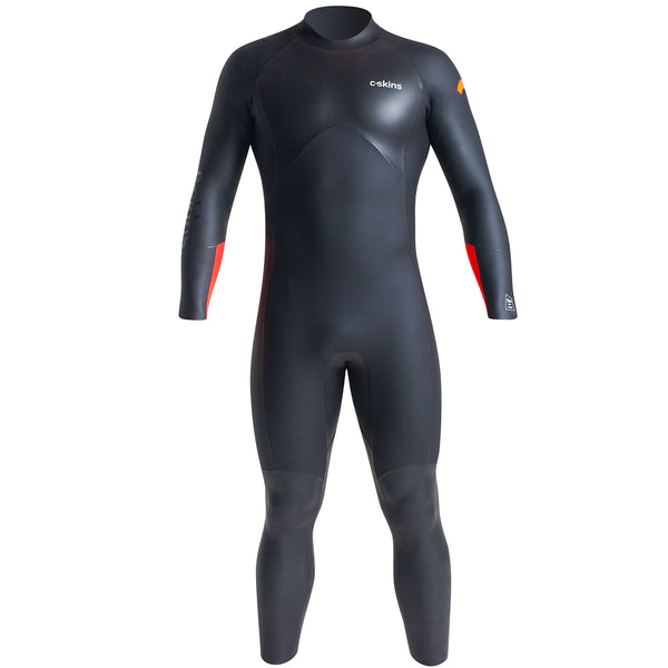 C-Skins Men's Swim Research 4/3mm Swimming Wetsuit