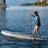 "Gul 10' 7"" CROSS Inflatable Paddle Board SUP on the water"