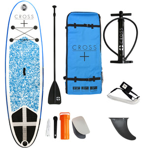 GUL 9'8in CROSS Inflatable SUP Complete Package