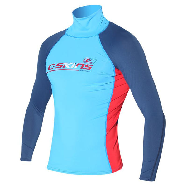 C-Skins UV50 Childrens Long Sleeve Rash Vest