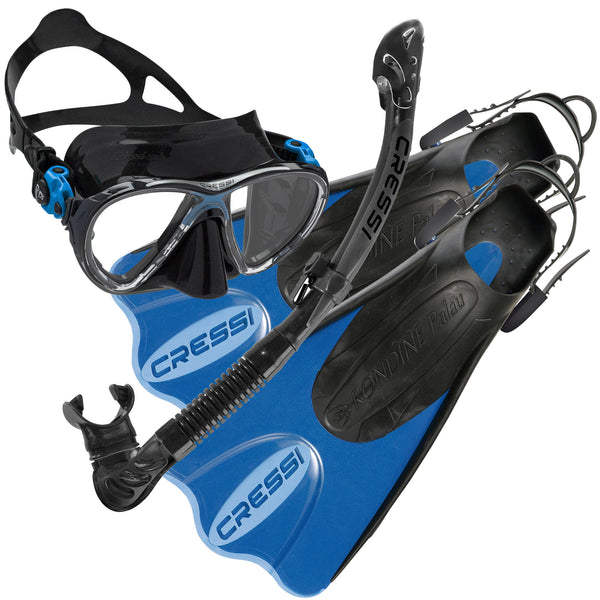 Cressi Big Eyes Evo Travel Light Snorkelling Set