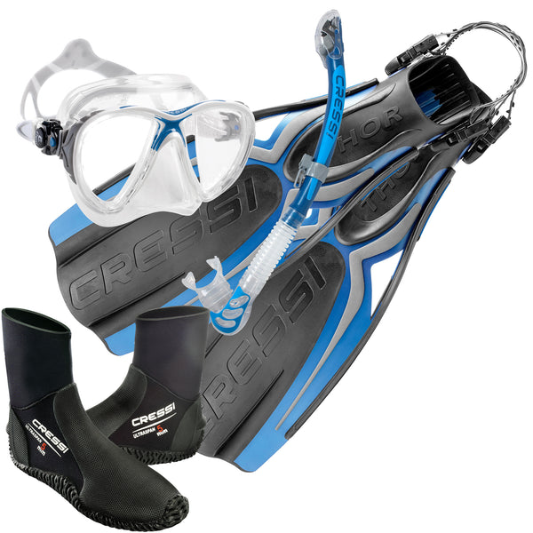 Cressi Thor Advanced Open Water Diving and Snorkelling Set