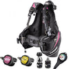 Cressi Ladies MC9 XS Compact Travel Light BCD & Reg Set