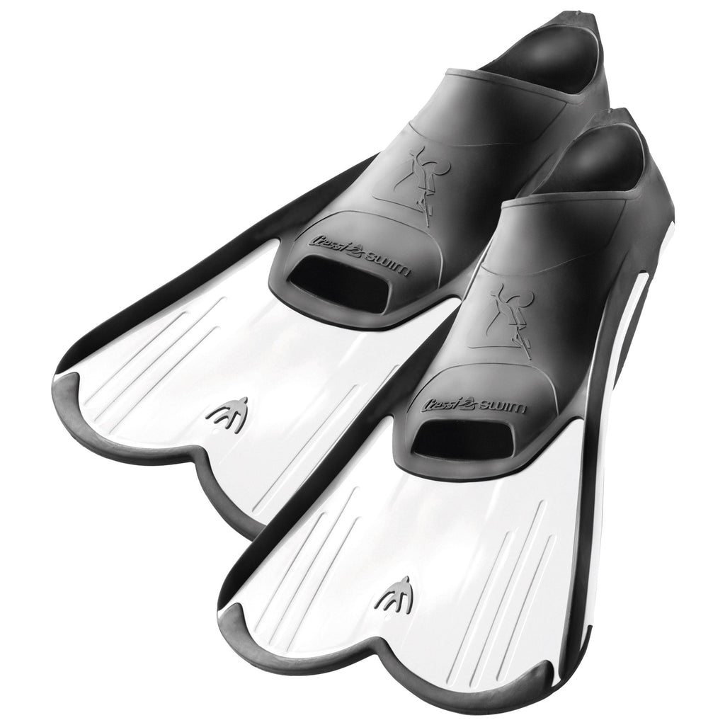 Cressi Light Swimming Training Fins | White