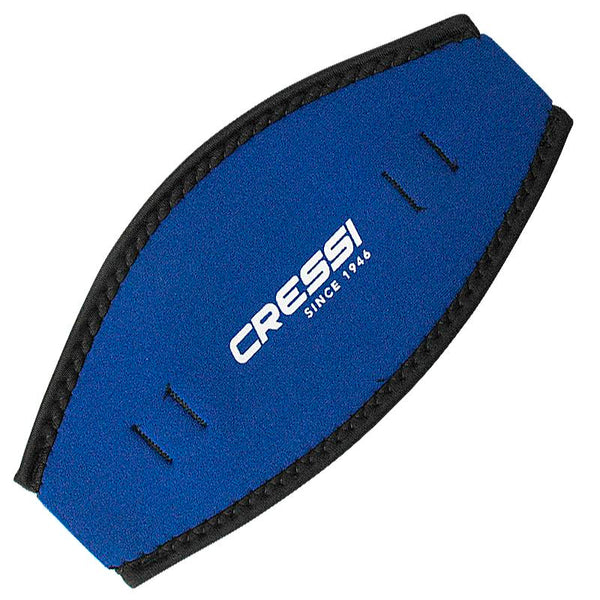 Cressi Neoprene Mask Strap Cover | Blue