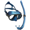 Cressi Calibro Mask & Corsica Snorkel Freediving Set