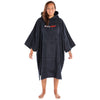 dryrobe Organic Cotton Adult Towel dryrobe Poncho | Black