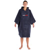 dryrobe Organic Cotton Adult Towel dryrobe Poncho | Slate Grey