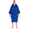 dryrobe Organic Cotton Adult Towel dryrobe Poncho | Royal Blue