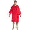 dryrobe Organic Cotton Adult Towel dryrobe Poncho | Red