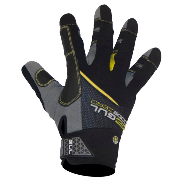 Gul Full Finger Summer Sailing Gloves 2019 Adult, back view